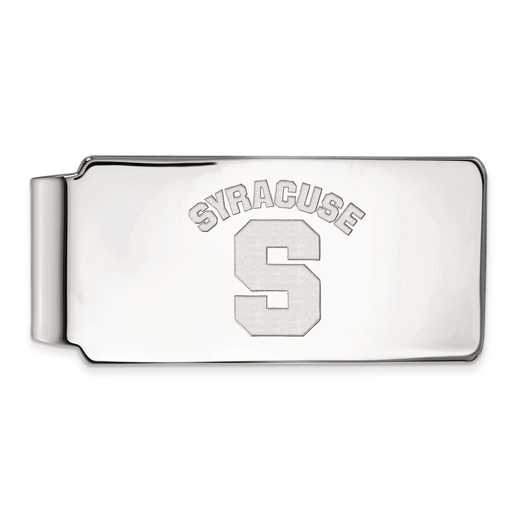 SS017SYU: SS LogoArt Syracuse Univ Money Clip