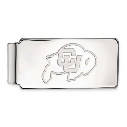 SS017UCO: SS LogoArt Univ of Colorado Money Clip