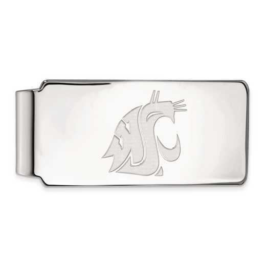 SS018WAS: SS LogoArt Washington State Money Clip