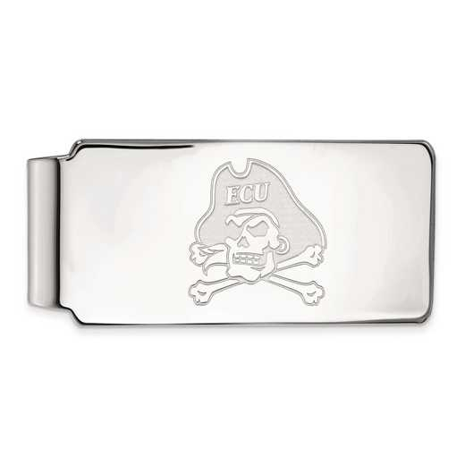 SS021ECU: SS LogoArt East Carolina Univ Money Clip