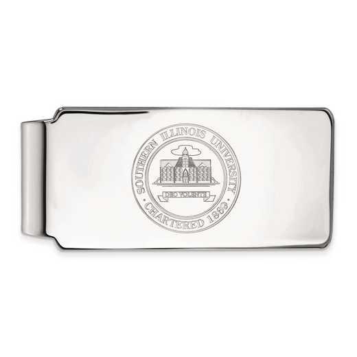 SS024SIU: SS LogoArt Southern Illinois Univ Money Clip Crest