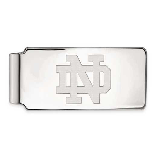 SS024UND: SS LogoArt Univ of Notre Dame Money Clip