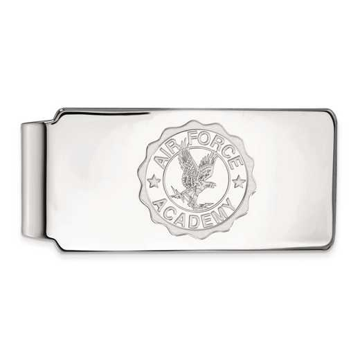 SS026USA: SS LogoArt United States Air Force Academy Crest Money Clip