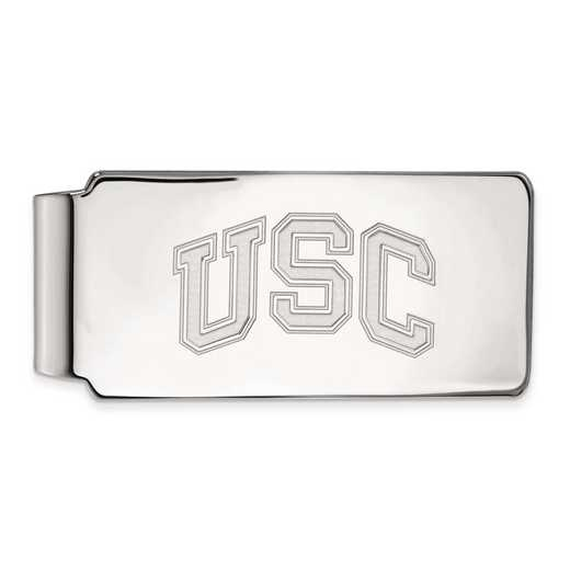 SS040USC: SS Univ of Southern California Money Clip