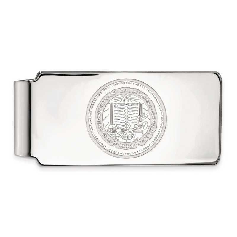 SS042UCB: SS LogoArt Univ of California Berkeley Money Clip