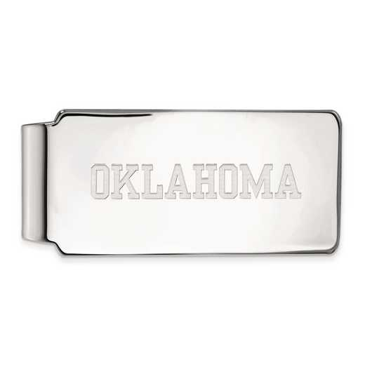 SS046UOK: SS LogoArt Univ of Oklahoma Money Clip