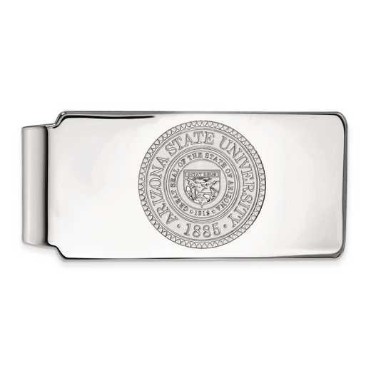 SS047AZS: SS LogoArt Arizona State Univ Money Clip Crest