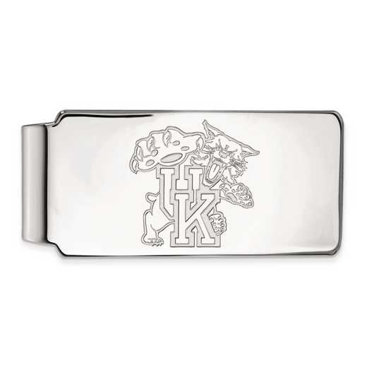 SS063UK: SS LogoArt Univ of Kentucky Money Clip