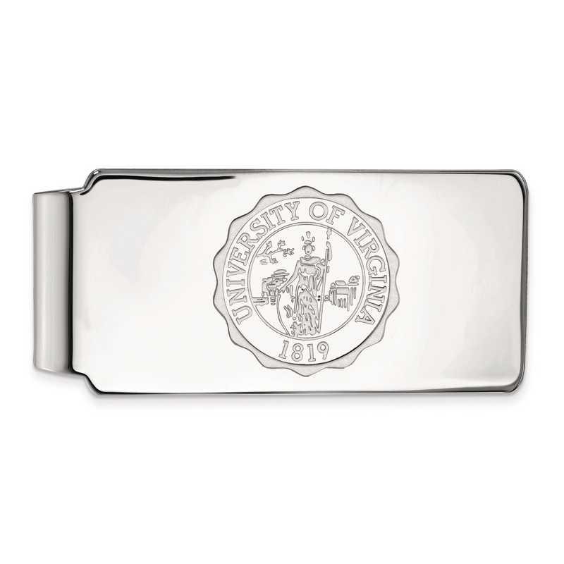 SS070UVA: SS LogoArt Univ of Virginia Money Clip Crest