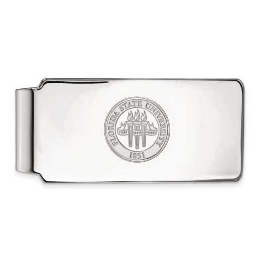 SS081FSU: SS LogoArt Florida State Univ Money Clip Crest