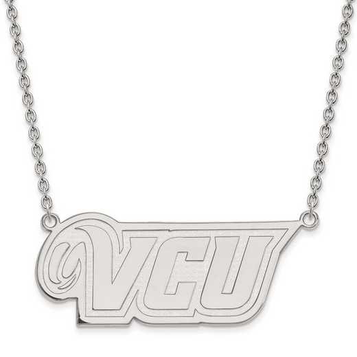 1W011VCU-18: 10kw LogoArt Virginia Commonwealth Univ Large Pend w/Neck