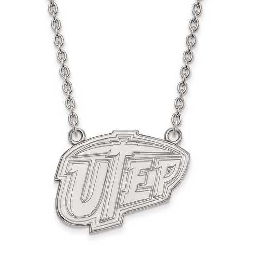 4W009UTE-18: 14kw LogoArt The Univ of Texas at El Paso Large Pend w/Neck