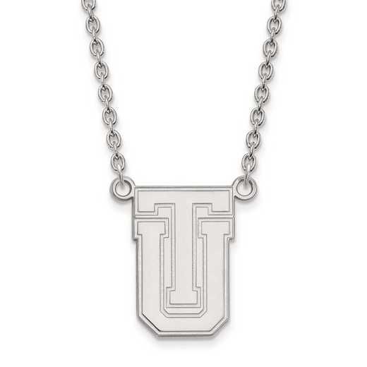 4W009UTL-18: 14kw LogoArt The Univ of Tulsa Large Pendant w/Necklace