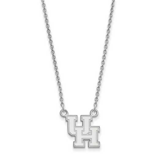 SS011UHO-18: SS LogoArt Houston Small Neck - White