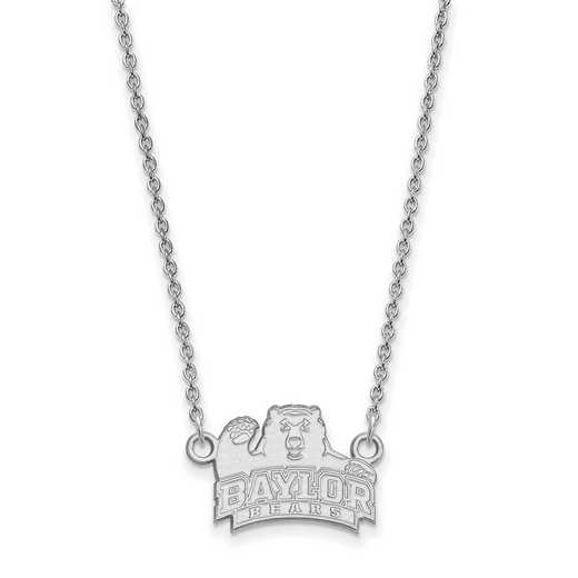 SS013BU-18: LogoArt Baylor Small Neck - White