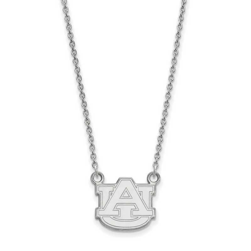 SS015AU-18: LogoArt Auburn Small Neck - White