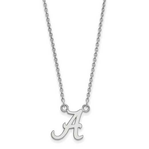 SS015UAL-18: LogoArt Alabama Small Neck - White