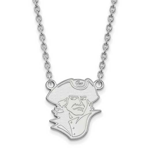 SS008GWU-18: SS LogoArt The George Washington U LG Pendant w/Necklace