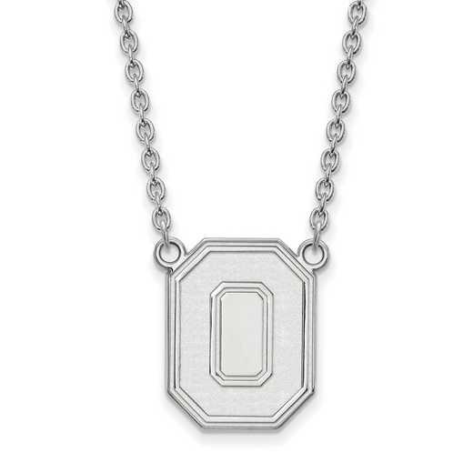 SS054OSU-18: SS LogoArt Ohio St Univ LG Pendant w/Necklace