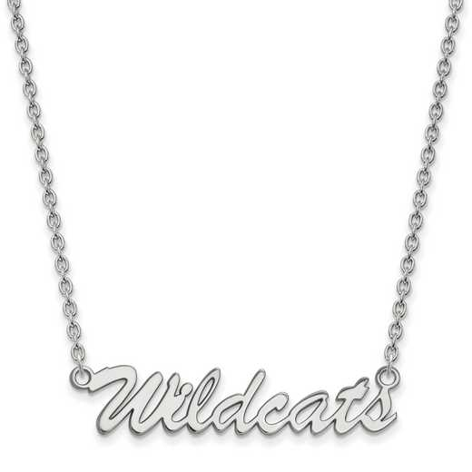 SS080UK-18: SS LogoArt Univ of Kentucky Medium Pendant w/Necklace