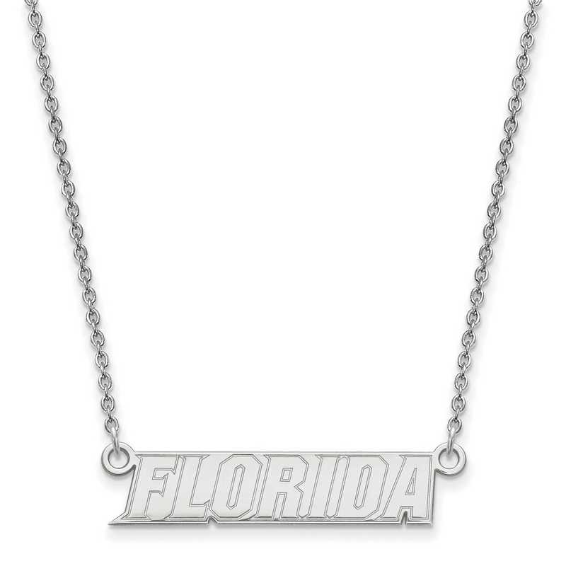 SS094UFL-18: SS LogoArt Univ of Florida SML Pendant w/ Necklace