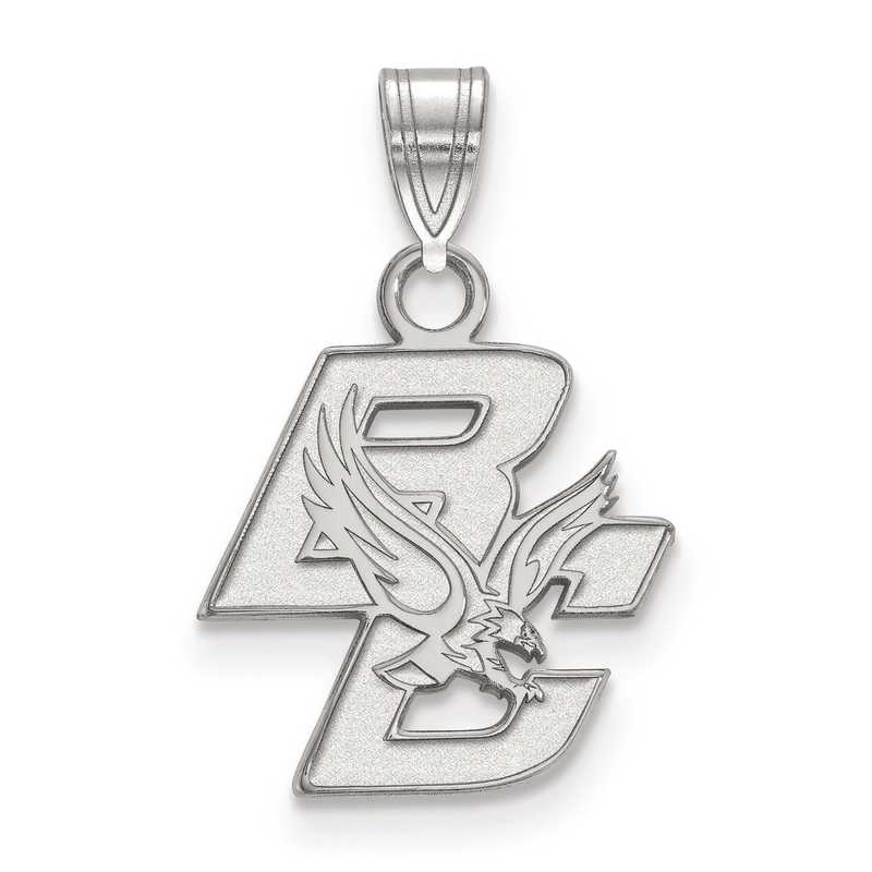 SS001BOC: SS LogoArt Boston College Small Pendant