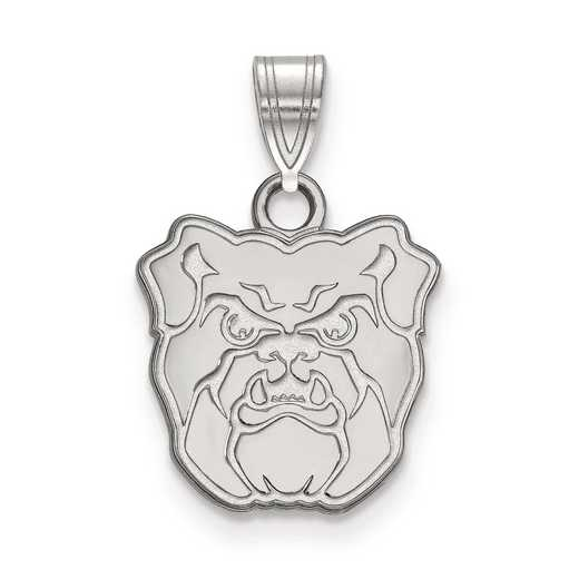 SS001BUT: SS LogoArt Butler University Small Pendant