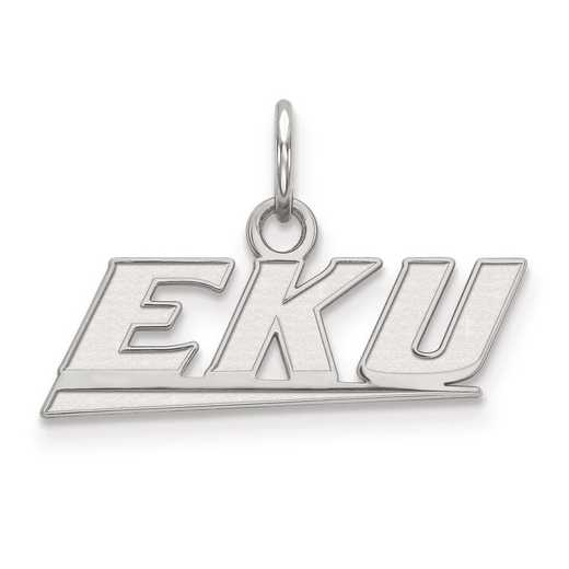 SS001EKU: SS LogoArt Eastern Kentucky University XS Pendant