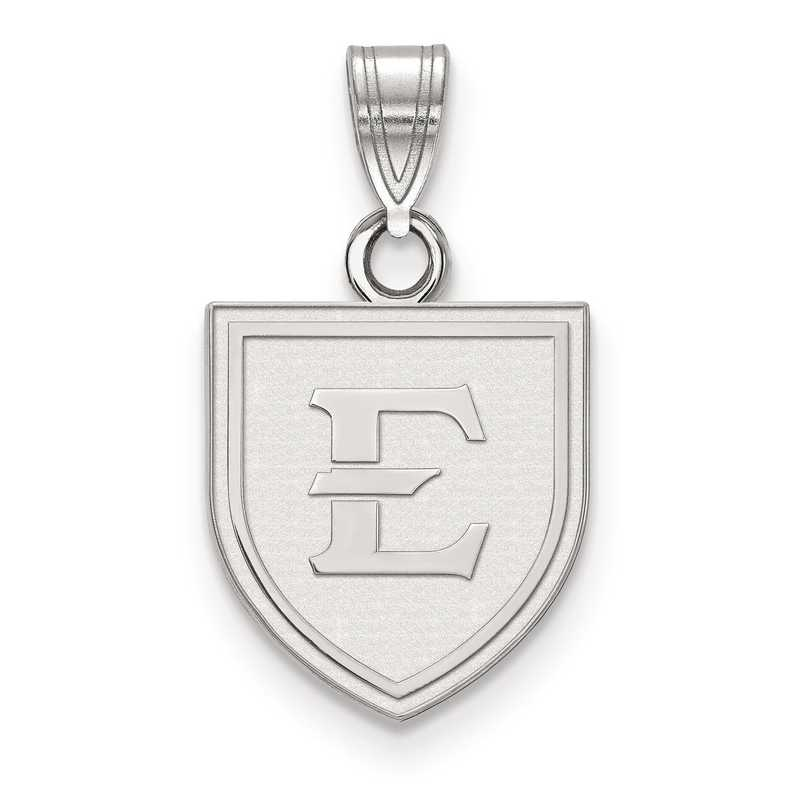 SS001ETS: SS LogoArt East Tennessee State Small Pendant