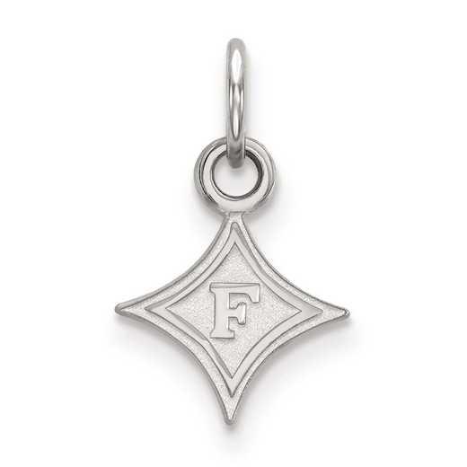 SS001FUU: SS LogoArt Furman University XS Pendant