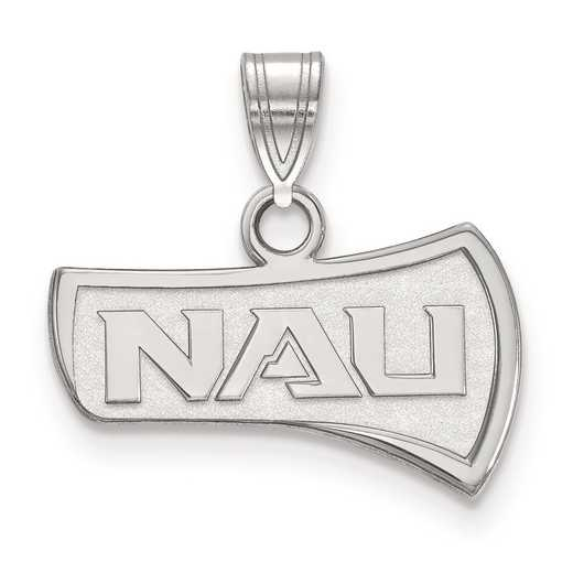 SS001NAU: SS LogoArt Northern Arizona University Small Pendant