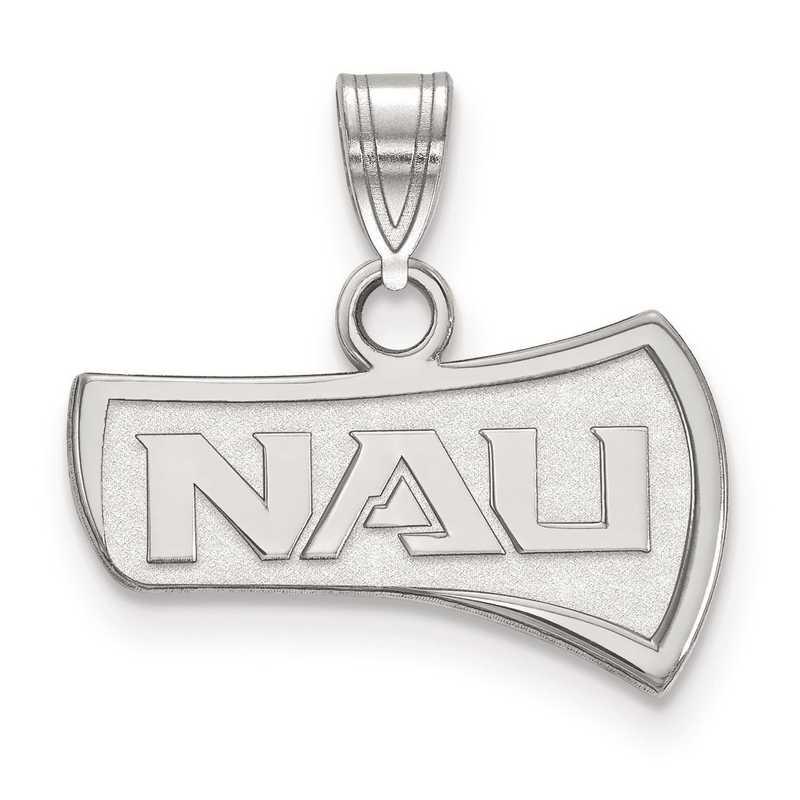 SS001NAU: SS LogoArt Northern Arizona University Small Pendant