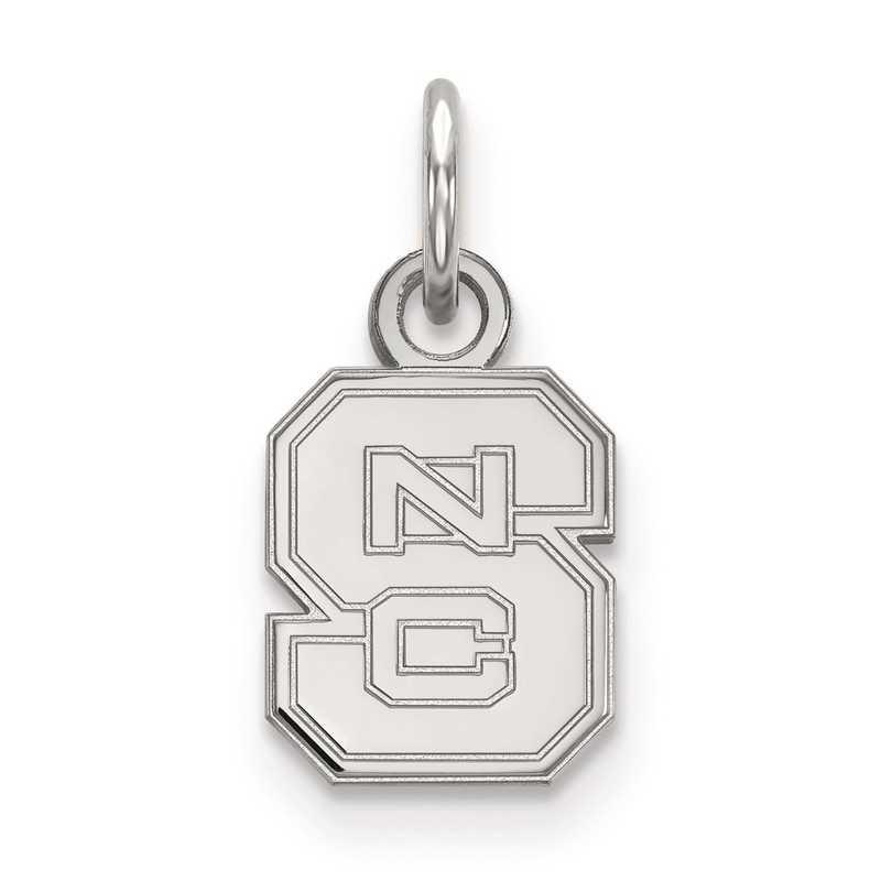 SS001NCS: SS LogoArt North Carolina State University XS Pendant