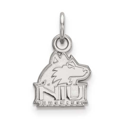 SS001NIU: SS LogoArt Northern Illinois University XS Pendant