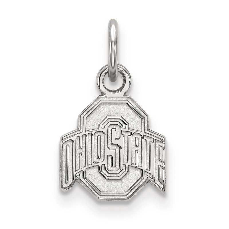 SS001OSU: SS LogoArt Ohio State University XS Pendant
