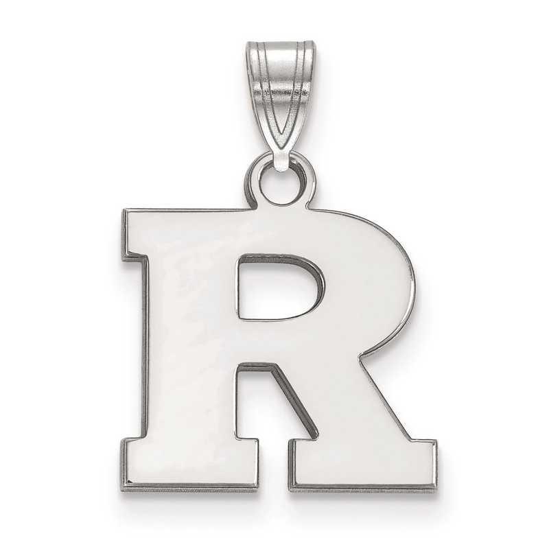 SS001RUT: SS LogoArt Rutgers Small Pendant
