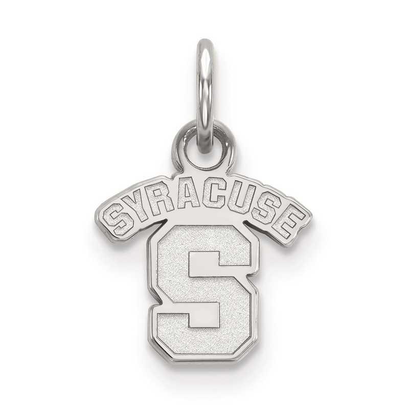 SS001SYU: SS LogoArt Syracuse University XS Pendant