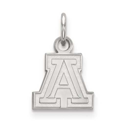 SS001UAZ: SS LogoArt University of Arizona XS Pendant