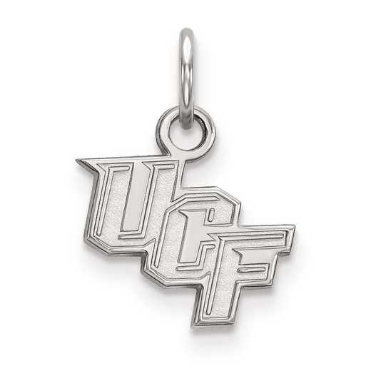 SS001UCF: SS LogoArt University of Central Florida XS Pendant