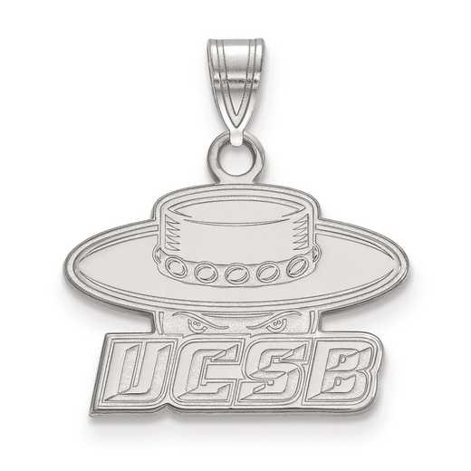 SS001UCSB: SS LogoArt University of California Santa Barbara Small Pend