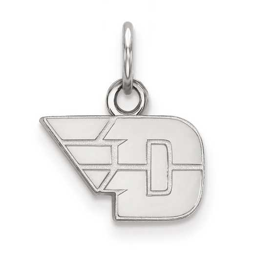 SS001UD: SS LogoArt University of Dayton XS Pendant