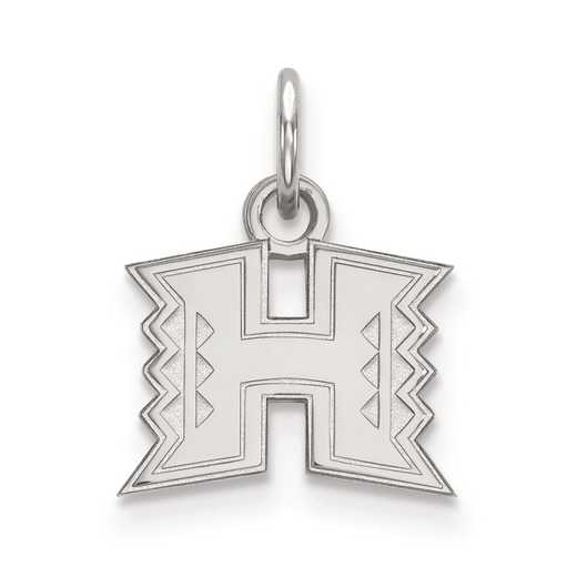 SS001UHI: SS LogoArt The University of Hawaii XS Pendant