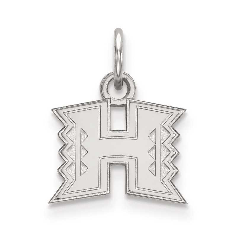 SS001UHI: SS LogoArt The University of Hawaii XS Pendant