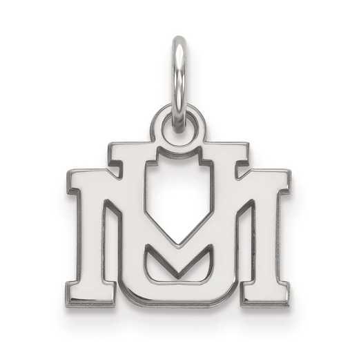 SS001UMT: SS LogoArt University of Montana XS Pendant