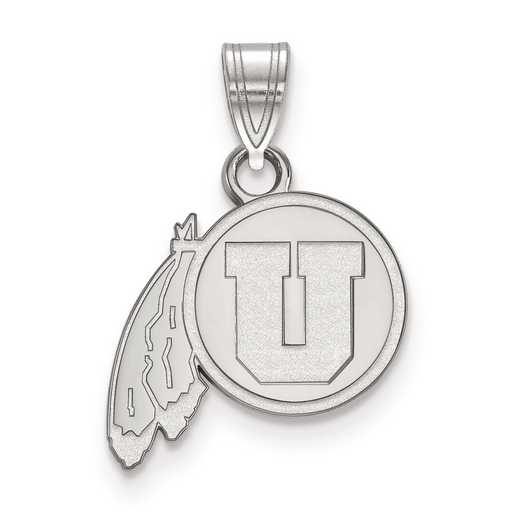 SS001UUT: SS LogoArt University of Utah Small PEND