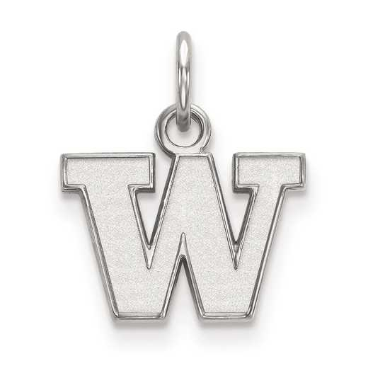 SS001UWA: SS LogoArt University of Washington XS Pendant