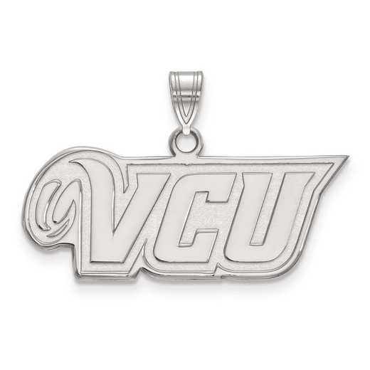 SS001VCU: SS LogoArt Virginia Commonwealth University Small PEND