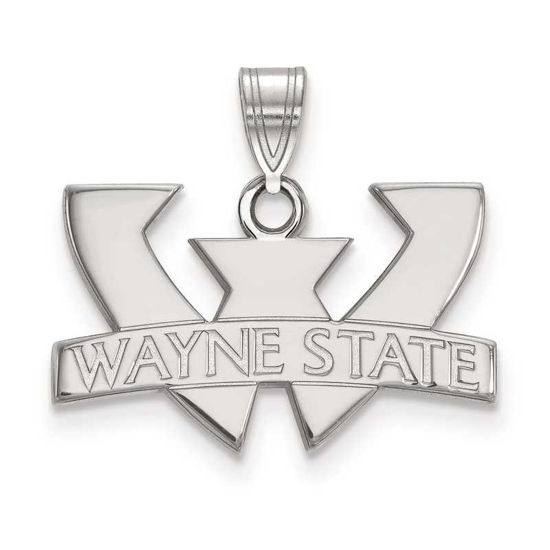 SS001WAY: SS LogoArt Wayne State University Small PEND