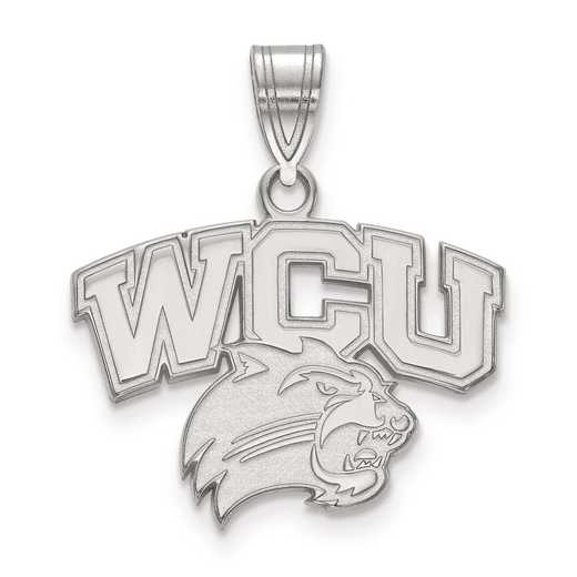 SS001WCU: SS LogoArt Western Carolina University Medium PEND