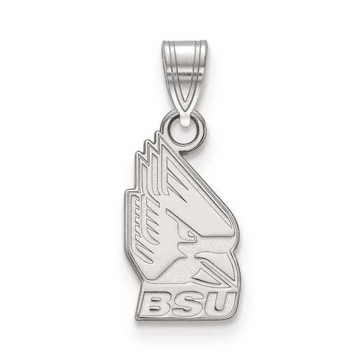 SS002BSU: SS LogoArt Ball State University Small Pendant